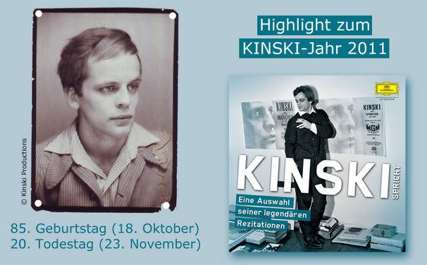 Klaus Kinski, Klaus Kinski und seine Geister