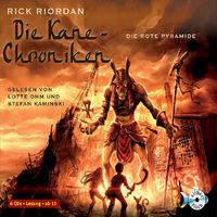 Rick Riordan, Die Kane Chroniken: Die rote Pyramide