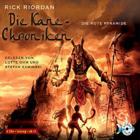 Rick Riordan, Die Kane Chroniken: Die rote Pyramide, 09783867421157