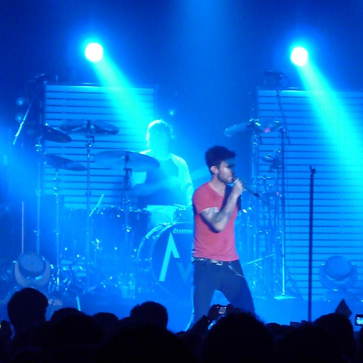 Maroon 5 Konzert 4.12. Berlin Columbiahalle 01