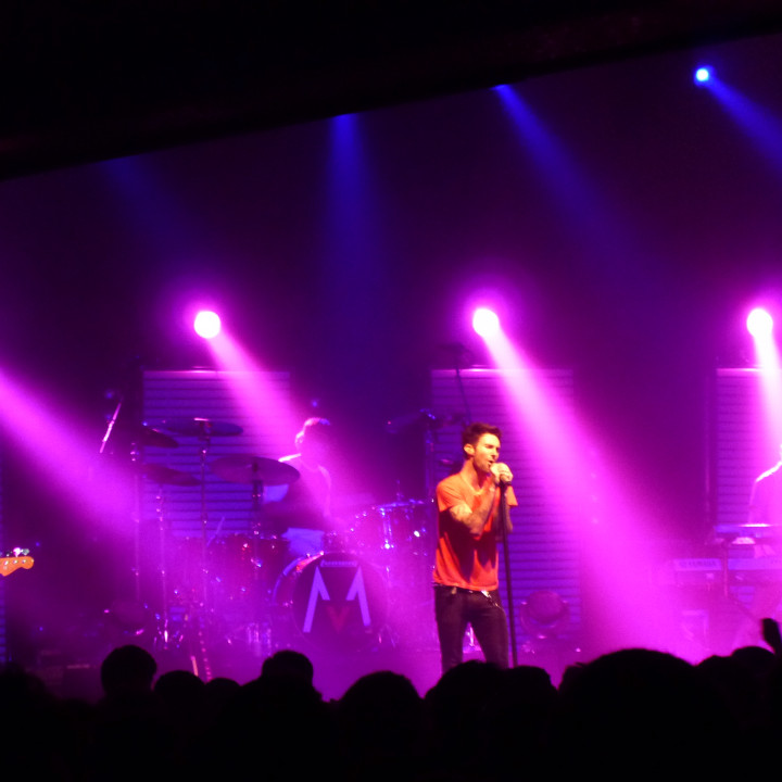 Maroon 5 Konzert 4.12. Berlin Columbiahalle 03