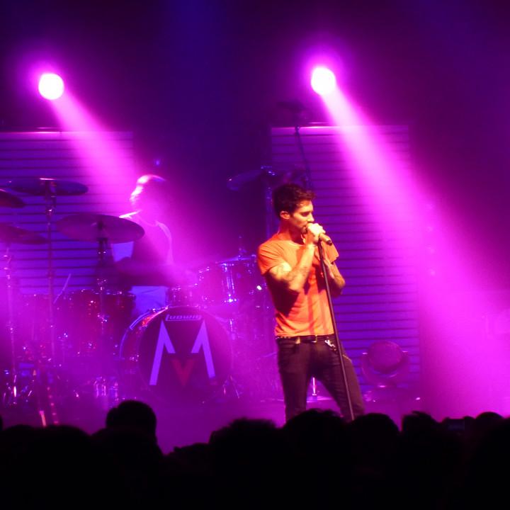 Maroon 5 Konzert 4.12. Berlin Columbiahalle 04