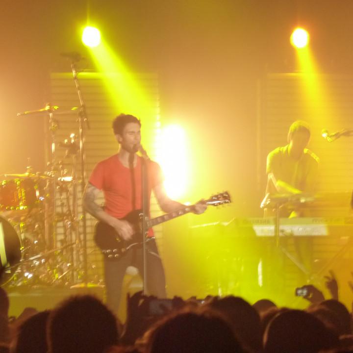 Maroon 5 Konzert 4.12. Berlin Columbiahalle 05