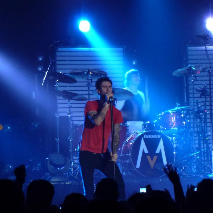 Maroon 5 Konzert 4.12. Berlin Columbiahalle 07
