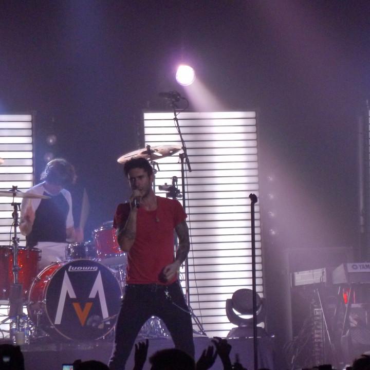 Maroon 5 Konzert 4.12. Berlin Columbiahalle 08