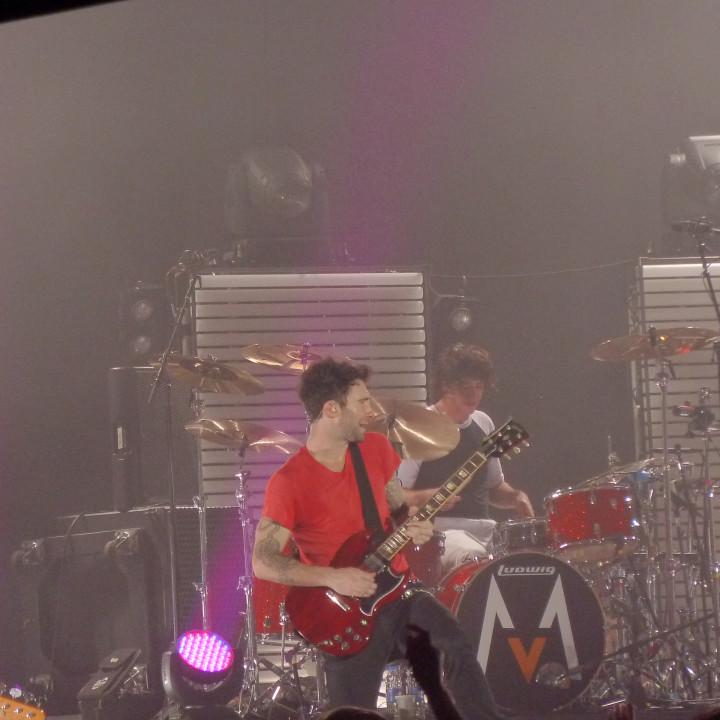 Maroon 5 Konzert 4.12. Berlin Columbiahalle 09