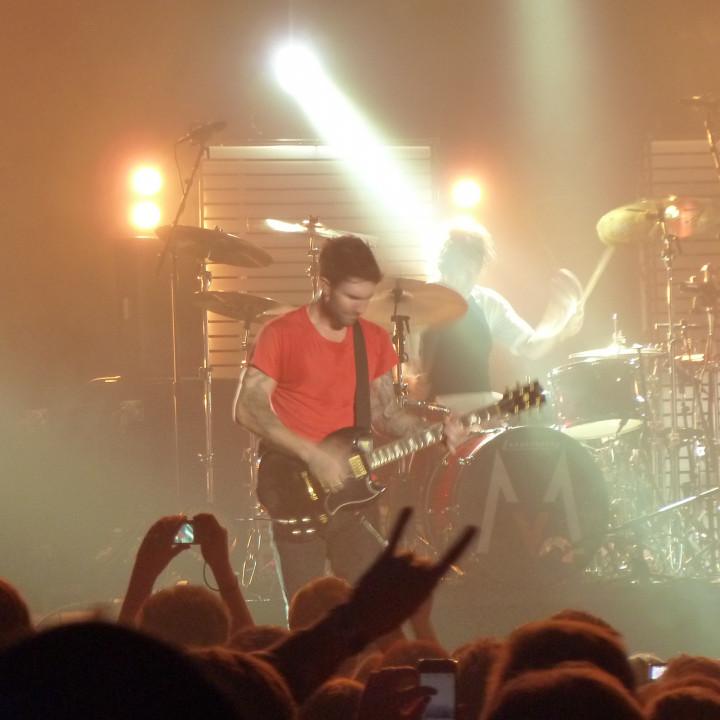 Maroon 5 Konzert 4.12. Berlin Columbiahalle 10