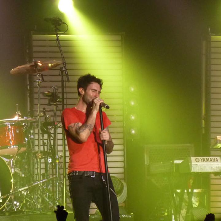 Maroon 5 Konzert 4.12. Berlin Columbiahalle 11