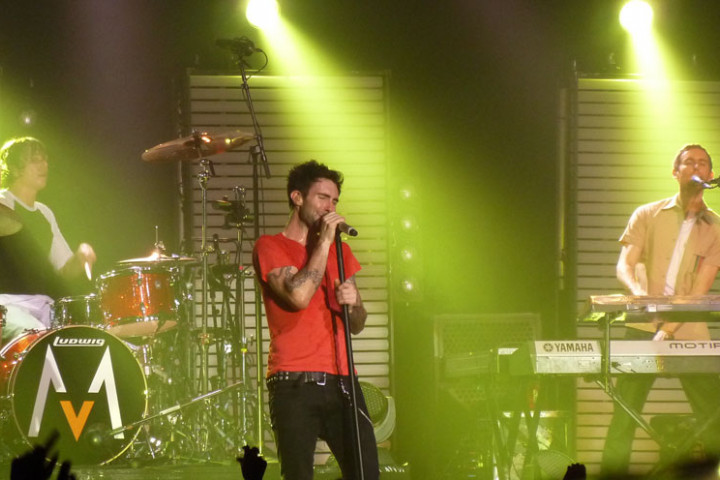 Maroon 5 Konzert 4.12. Berlin Columbiahalle