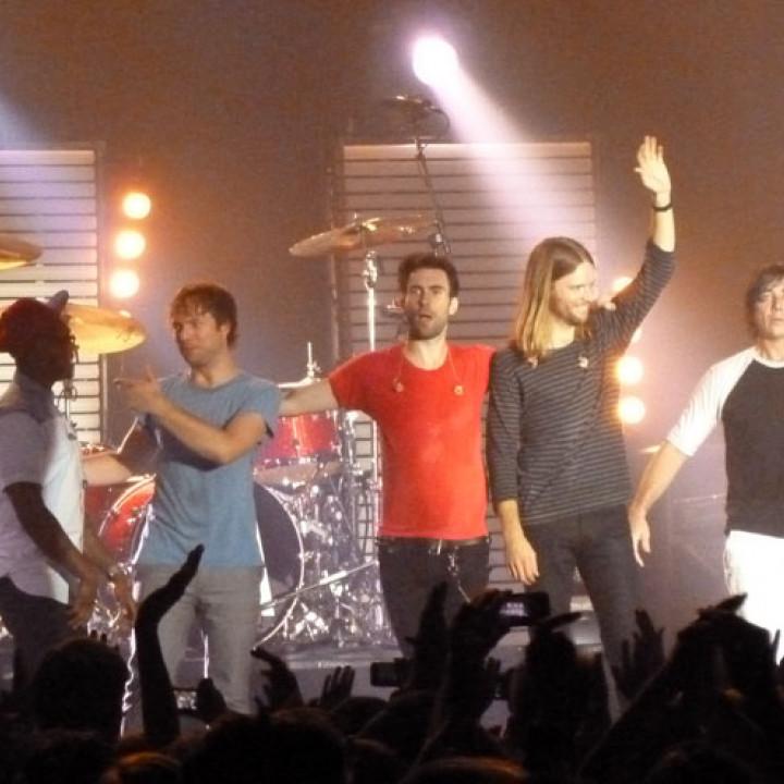 Maroon 5 Konzert 4.12. Berlin Columbiahalle 14