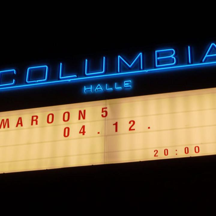 Maroon 5 Konzert 4.12. Berlin Columbiahalle 15