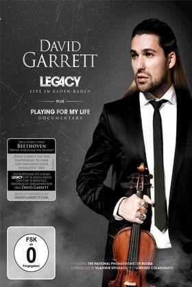 David Garrett, Legacy: Live in Baden-Baden, 00044007628188