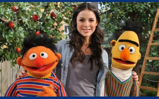Lena, Bert, oh Bert - Lena bei der Sesamstraße