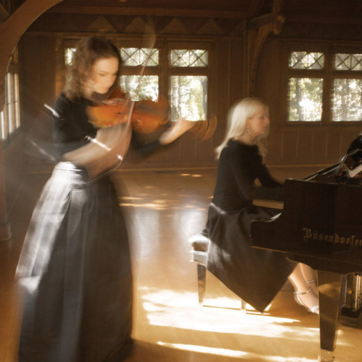 Hilary Hahn Valentina Lisitsa c Sam Jones