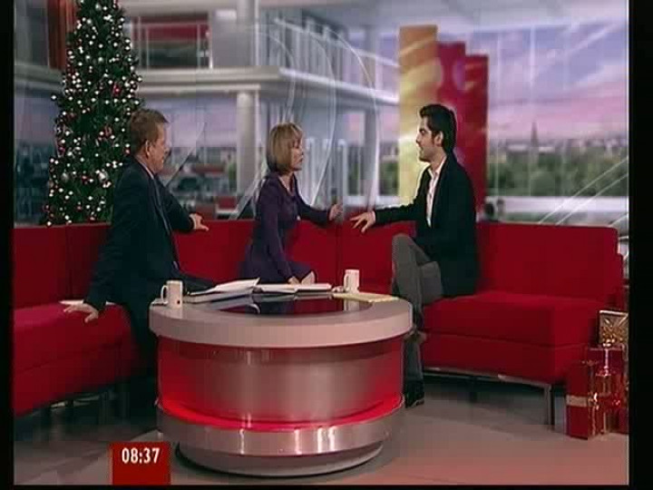Milos Interview BBC Breakfast
