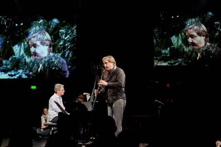 Albrecht Mayer bei der Yellow Lounge im Berghain - Dezember 2011