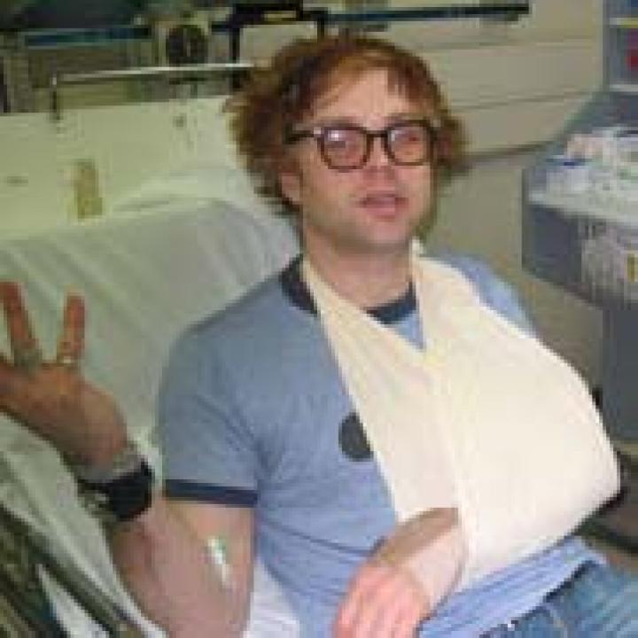 Ryan Adams im Krankenhaus