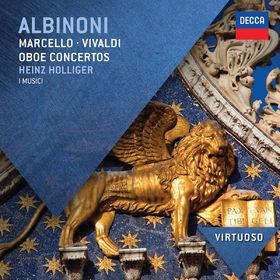Heinz Holliger, Albinoni, Marcello & Vivaldi: Oboe Concertos, 00028947836094