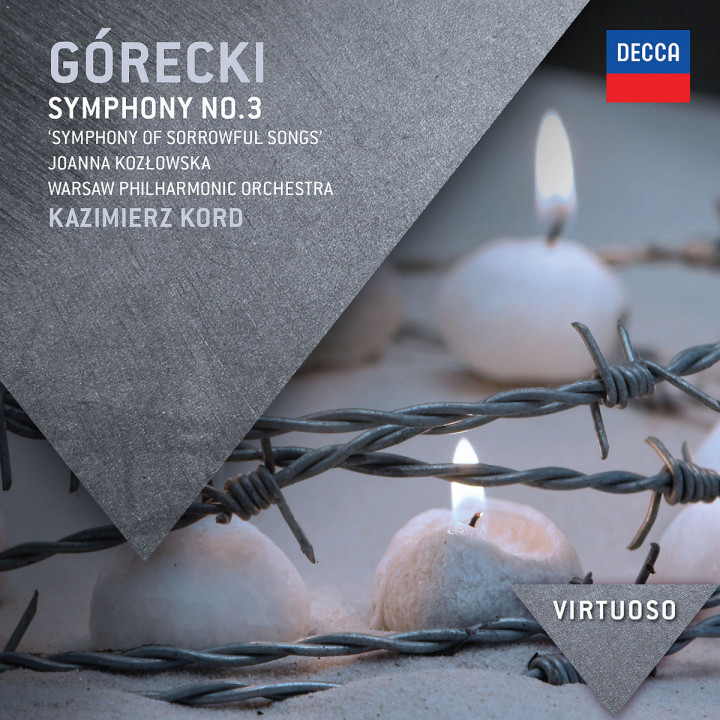 "Gorecki: Symphony No.3 - ""Symphony of Sorrowful Songs"""