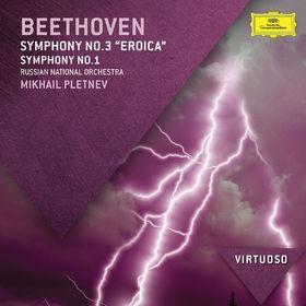 Virtuoso, Beethoven: Symphony No.3 - Eroica; Symphony No.1, 00028947836162
