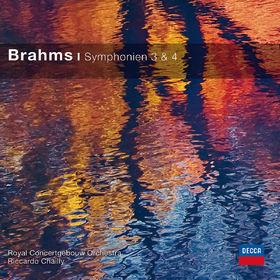 Johannes Brahms: Symphonien Nr. 3 & 4 (CC), 00028948059690