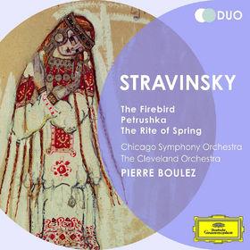 Duo, Stravinsky: The Firebird; Petrushka; The Rite of Spring, 00028947900054
