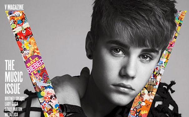 Justin Bieber, Justin Bieber ziert das V-Magazine