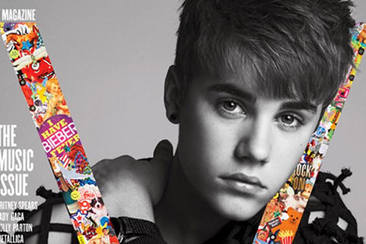 Justin Bieber V Magazine