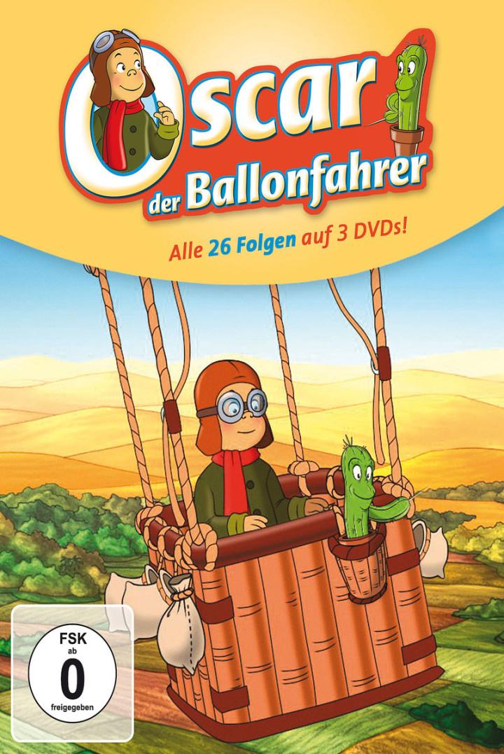 Oscar der Ballonfahrer - Staffel 1 (3 DVD/26 Ep.): Oscar der Ballonfahrer