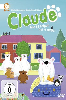 Claude, Claude - die komplette Serie (4 DVD / 52 Ep.), 00602527902364