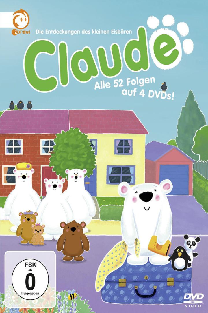 Claude - die komplette Serie (4 DVD / 52 Ep.): Claude