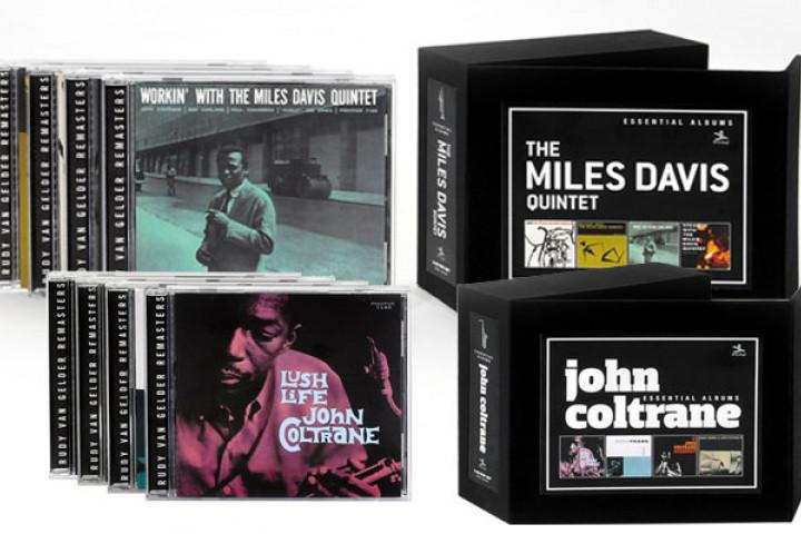 PackShots Miles Davis John Coltrane