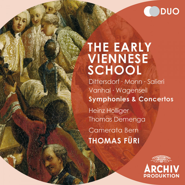 The Early Viennese School - Dittersdorf / Monn / Salieri / Vanhal / Wagenseil: Symphonies and Conce