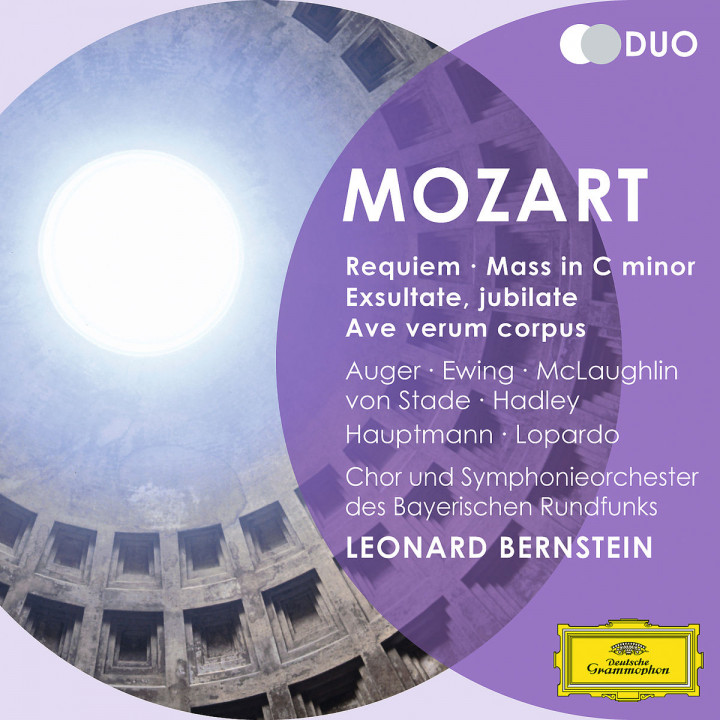 Mozart: Requiem; Mass in C minor; Exultate, Jubilate; Ave verum corpus