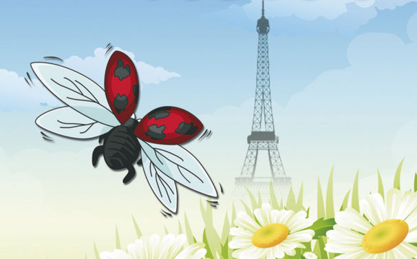 Fleckie, 125 Jahre Eiffelturm