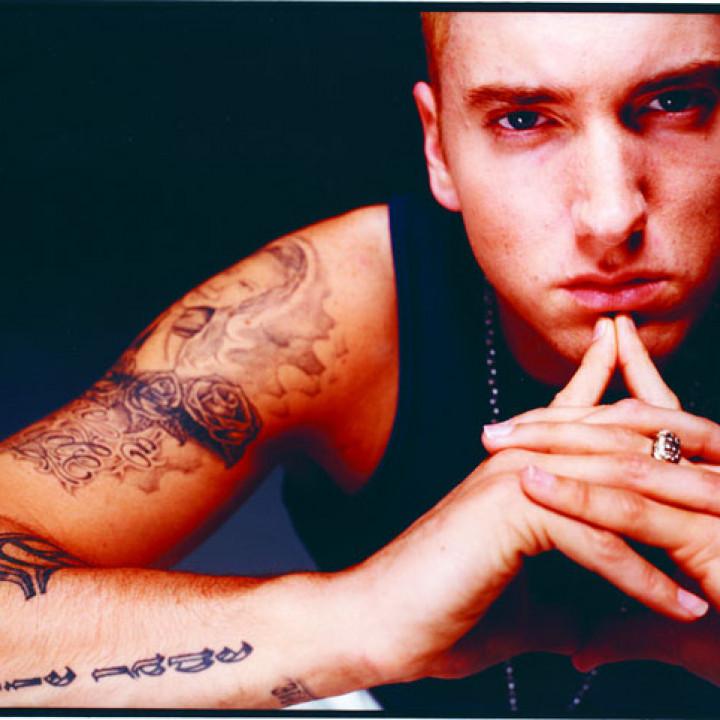 Eminem – Pressefoto 2002 − 03
