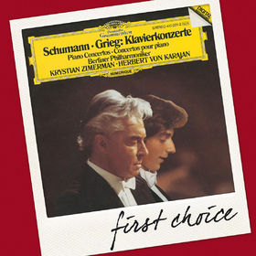 Die Berliner Philharmoniker, Schumann / Grieg: Piano Concertos, 00028947799641