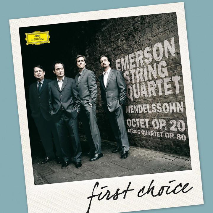 Streichquartette (Ga)/Oktett op. 20 (FC): Emerson String Quartet