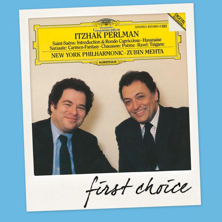 Carmen Fant./Poeme/Havanaise/Tzigane/+ (FC): Perlman/Mehta/NYPO