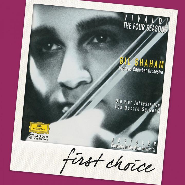 Die Vier Jahreszeiten/Violinkonz. C-Dur (FC): Shaham,Gil/Orpheus Chamber Orchestra