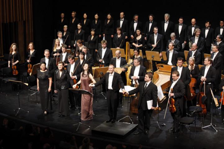 Montezuma im Schillertheater mit Adriane Queiroz, Vesselina Kasarova, Anna Prohaska, Michael Hofstetter, Michael Maniaci