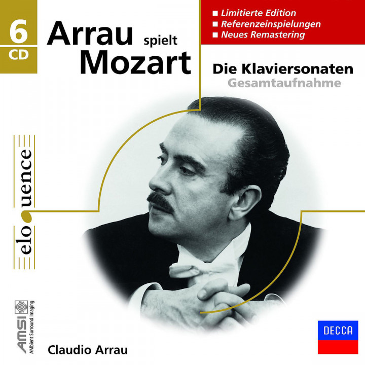 Arrau spielt Mozart (Ltd. Edt.) (Eloquence): Arrau,Claudio