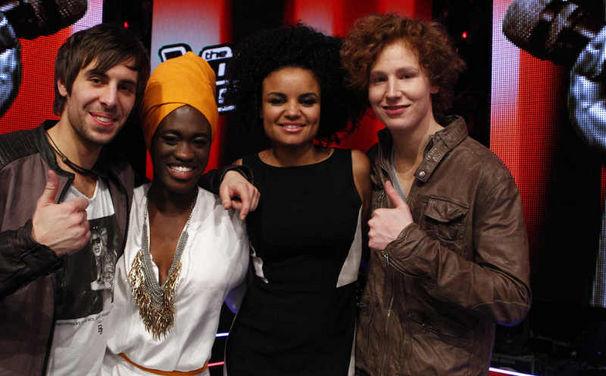 The Voice Of Germany, Da waren's nur noch vier: The Voice geht in die finale Runde