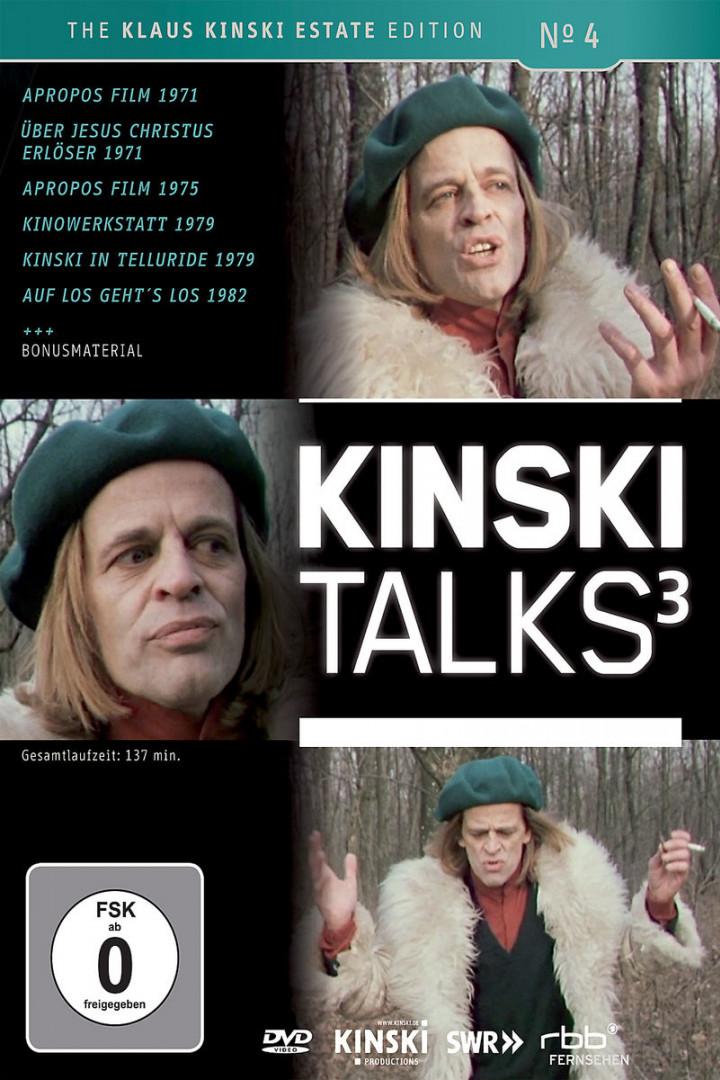 Kinski Talks 3: Kinski,Klaus