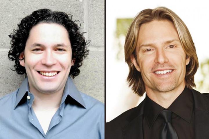 Gustavo Dudamel und Eric Whitacre