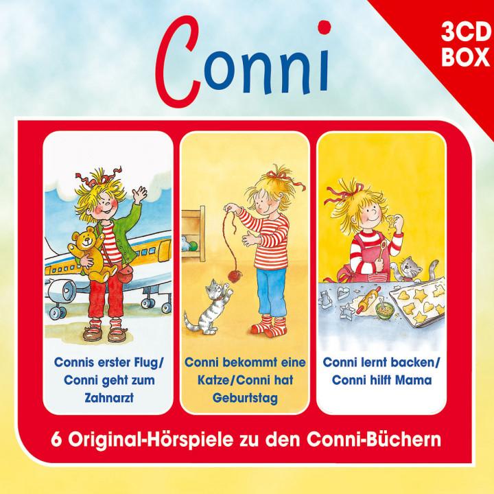 Conni - 3-CD Hörspielbox Vol. 4: Conni