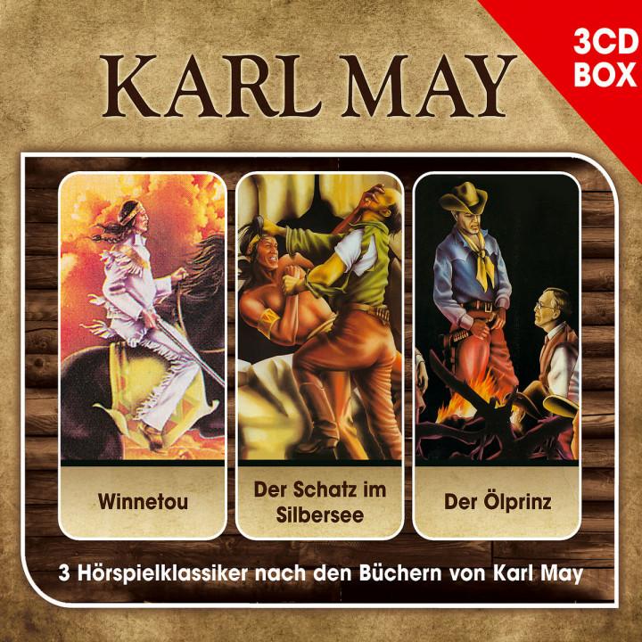 Karl May: Hörspielklassiker - 3-CD Hörspielbox: May,Karl