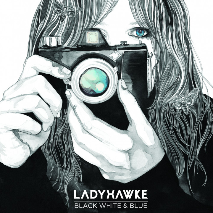 Black, White And Blue Ladyhawke Single 2012