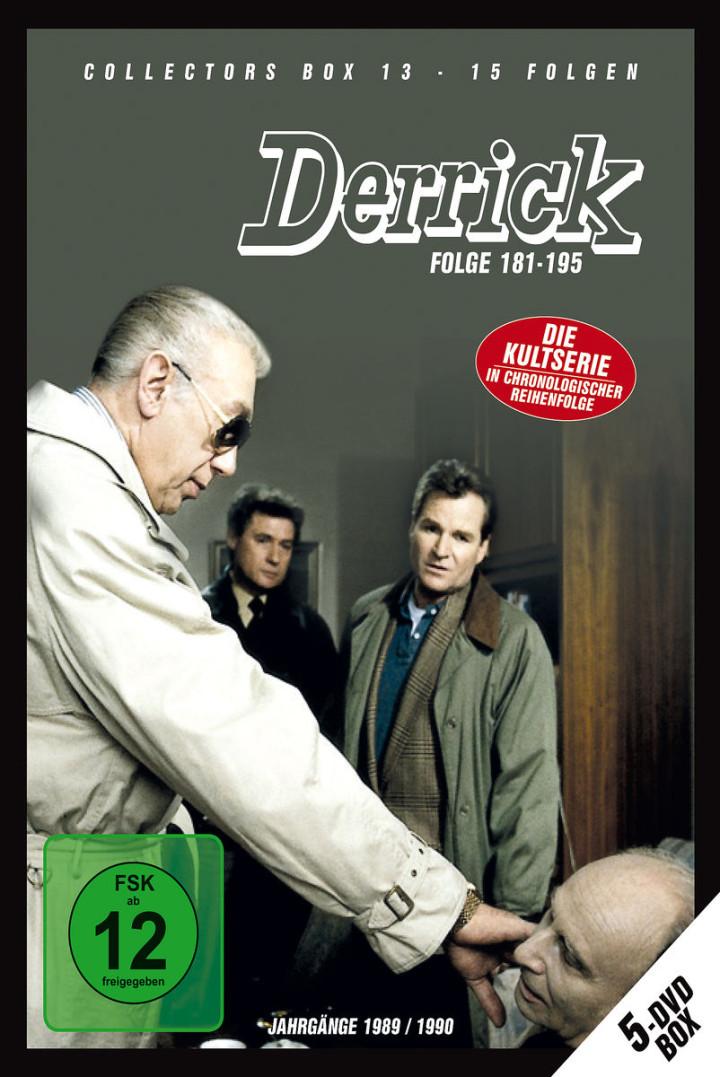Derrick Collector's Box 13 (5 DVD / Ep. 181-195): Derrick