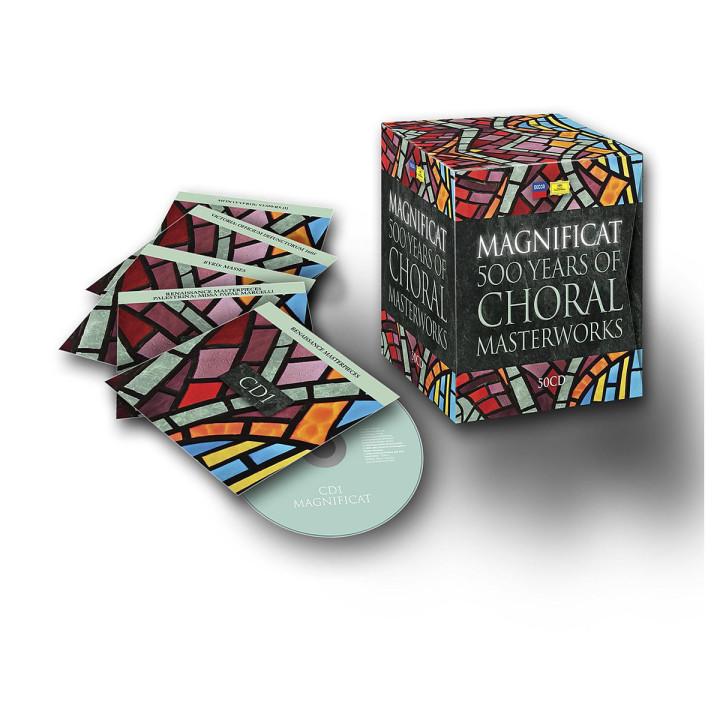 Magnificat 500 Years Of Choral Masterworks: Thomanerchor/The Monteverdi Choir/EBS/Gardiner